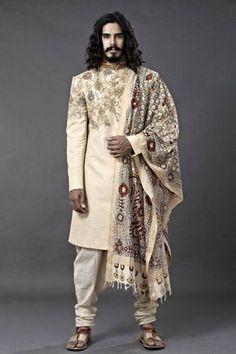Wedding ceremony in kurta pajama