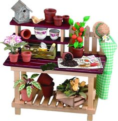 potting bench ...