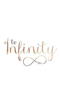 wallpaper, infinity, and iphone resmi