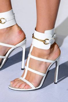 Share to get a coupon for all on FSJ Women's White Open Toe Buckle Stiletto Heel Ankle Strap Sandals Shoes Stilettos, Stiletto Heels, Pumps, Cute Shoes, Me Too Shoes, Shoe Boots, Shoes Heels, Gucci Shoes, Ankle Heels