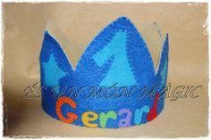#Corona para #cumpleaños para #niños y #niñas by @esunmonmagic