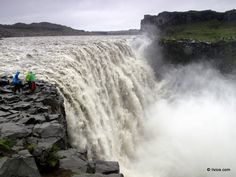Being next to power - Detifoss Waterfall, Iceland.