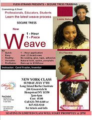 Seamless weave technique hair weave hair extension techniques hair weaving techniques demo newest weave technique securetress demo class in black hair pmusecretfo Image collections