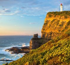 Cape Schanck sits at the southernmost tip of the Mornington Peninsula and separates the wild ocean waters of Bass Strait from the slightly calmer waters of Western Port.