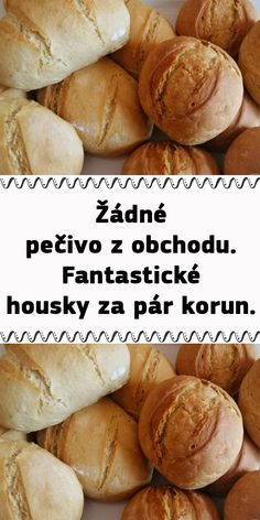 Czech Recipes, Ciabatta, Keto Bread, Bread Recipes, Hamburger, Bakery, Food And Drink, Cooking, Hampers