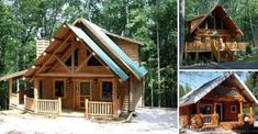 Build Your Own Log Cabin for under $15,000