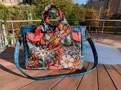 Sac Foxtrot cousu par Alice-Anne - Patron Sacôtin Messenger Bag, Diaper Bag, Alice, Satchel, Bags, Fashion, Sewing, Handbags, Moda