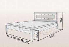 Bed Frame Design, Bedroom Bed Design, Bedroom Furniture Design, Bed Furniture, Bed Designs With Storage, Bunk Bed Designs, Bed Frame Plans, Diy Bed Frame, Welded Furniture