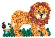 Midi Hama Bead Lion