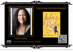 #PEARLPAGES: Author reading as a book introduction - Ada's Rules by Alice Randall ( Excerpt Reading ).     Listen to the reading and share with friends: http://www.audioacrobat.com/note/C2BFX8hs