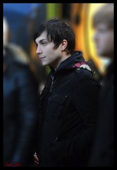 frank iero, just being cute