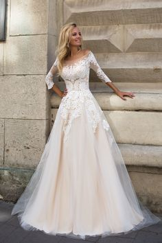 ALTHEA Dress by OKSANA MUKHA in Charmé Gaby Bridal Gown boutique in Clearwater FL 727-300-2044 Price: $1100,00