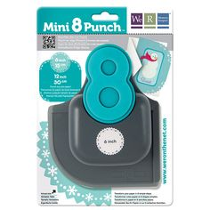 We R Memory Keepers - Mini 8 Punch - Border and Corner Punch - Snowflake at Scrapbook.com $19.99