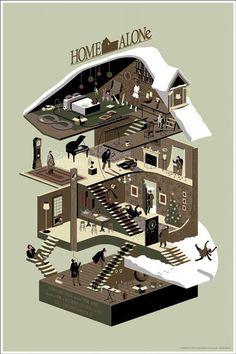 Alternative Movie Poster - Home Alone