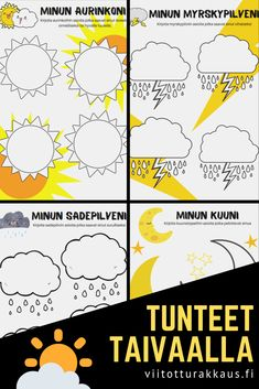 Tunteet Taivaalla - Viitottu Rakkaus Finnish Language, Behaviour Management, Early Childhood Education, Little Ones, Preschool, Presentation, Teaching, Feelings, Early Education