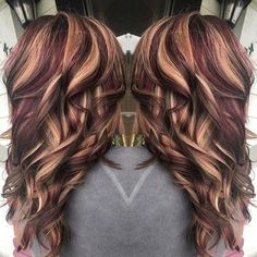 53 ideas for hair color Flamboyage Dark Brown Low Lights Flamboyage Hair - All For Hair Cutes Red To Blonde, Blonde Hair With Highlights, Hair Color Balayage, Black Balayage, Brown Blonde, Medium Blonde, Blonde Balayage, Hair Color And Cut, Cool Hair Color