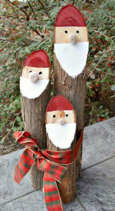 Log Santa Claus