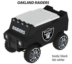 Oakland Raiders RC Cooler | C3 Custom Coolers