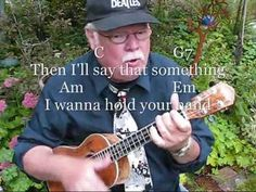 I Wanna Hold Your Hand - Video tutorial by Ukulele Mike Lynch. . . Beginners DVD combo pak available for purchase. . email mike@ukulelemikelynch.com for more information