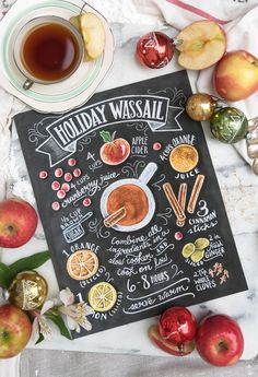 Your may recipe may not be the same, but we all share holiday memories wrapped in this seasonal drink.  // Holiday Wassail Recipe - Print