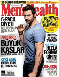 Men's Health 2014 Haziran sayısı.