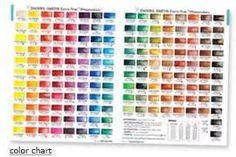daniel smith watercolor charts - Bing Images