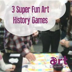 3 Super Fun Art History Games - The Art of Education