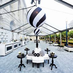 Friday Pinterest Finds: Black and White - Social Tables | Blog