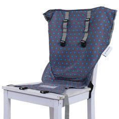 Le si�ge nomade Sack'n Seat permet de s�curiser votre enfant d�s qu'il se tient droit dans la plupart des chaises adultes, comme une chaise haute instantan�e. C'est le si�ge id�al et compact � emmener partout avec vous. Il se plie et se range dans un sac grand comme une main et est tr�s simple � utiliser. Son dossier est extra large, et pour plus de s�curit� l'enfant est maintenu par des bretelles.