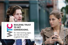 Building Trust to Get Conversions. Or, how landing pages are like the world's roughest first date. Landing, Conversation, Trust, How To Get, Website, World, Building, Buildings, The World