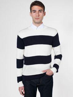 Knit Wide Stripe Sweater