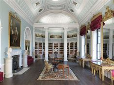 The library at Kenwood House in London - this is heaven.
