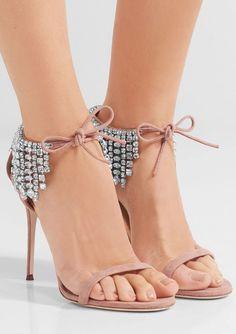 Featured Shoes: Giuseppe Zanotti, Via Net-A-Porter; Fashionable shoes inspiration.
