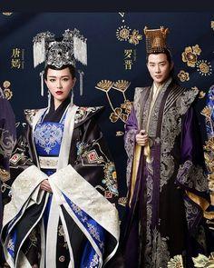 Tiffany Tang Luo Jin, Kdrama, Princess Weiyoung, Chines Drama, Peach Blossoms, Chinese Clothing, Period Dramas, Movie Characters, Hanfu