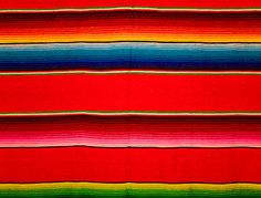 Sarape Pattern from a Mexican textile