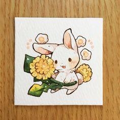 うさぎさんとお花シリーズ | mokarooru_0x0
