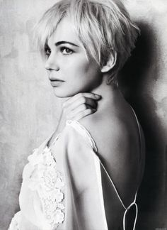 cuttingitshort:  Michelle Williams for Marie Claire February 2011 issue