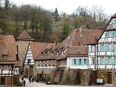 Maulbronn, about a 35 minute drive from us, UNESCO World Heritage Site, fun day trip and has Tiefer See with paddle boats for the kids, as well as Weinstrasse for the adults.  Had a fantastic lunch at Klosterblick outside of the monastery walls.