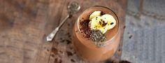 Schokoladen Shape Shake mit Banane