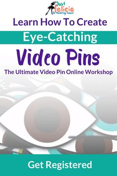 At The Ultimate Video Pin Online Workshop, you will learn how to create eye-catching video pins that convert on Pinterest. During April 2020, I'm running a special promotion for the workshop and I will be teaching it live. Check out the details here and learn more about what makes video pins so powerful.