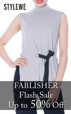 Get up to 50% discount on FABLISHER Flash Sale products at only StyleWe store. Get hurry now, this offer is ending soon. For more StyleWe Coupon Codes visit: http://www.couponcutcode.com/stores/stylewe/