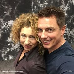Is there a river in Dallas jb | Doctor Who stars Alex Kingston and John Barrowman