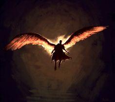 Castiel by Aquila--Audax.deviantart.com on @DeviantArt
