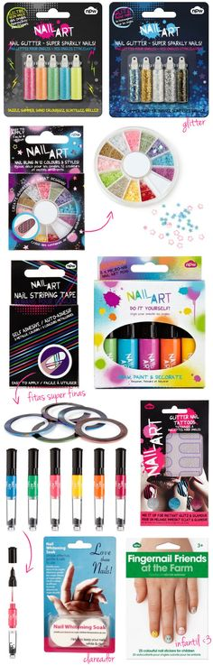 NPW, nail art, esmalte, glitter, unhas, pedrinhas, fimo, paetê, fitinhas para unhas, nail tape,