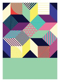Abstract art print  A3 size  100 recycled paper/ eco by DURIDO, $26.00