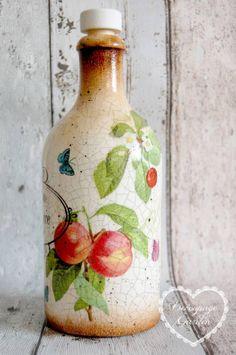 Butelka na wino domowe :)