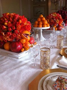 A citrus themed party by Heather Christo, via www.heatherchristo.com