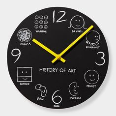 History of Art Wall Clock | MoMAstore.org