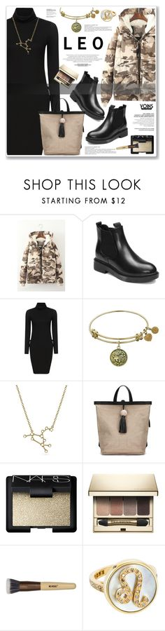 """LOVE YOINS"" by nanawidia ❤ liked on Polyvore featuring Bling Jewelry, NARS Cosmetics, Clarins and Carolina Bucci"