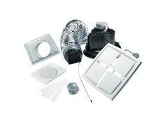 Clipsal - CEF40WK - Ducted Exhaust Fan Kit, Ceiling Mounted, 150mm, White Electric Exhausted, Electric, Ceiling, Fan, Bathroom, Washroom, Ceilings, Full Bath